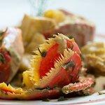 ragout de homard  au  cidre (spécialité du  chef)