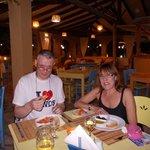 Romantic dinner at Roussos