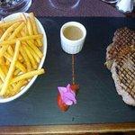 entrecôte frite