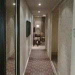 corridor in standard suite