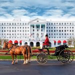 The Greenbrier Main Entrance