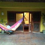 Back porch in Garden suite