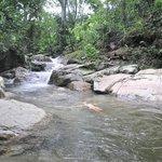 en el rio en paz
