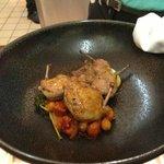 Roast breast of quail