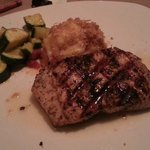 Salmon-huge serving size and great flavor!!