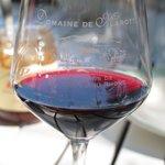 eigen glazen; heerlijke wijn