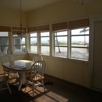 The dining nook and beautiful 180 degree windows!