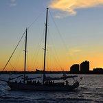 Clipper City sailing the bay