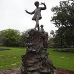 Peter Pan Statue, Queens Gardens