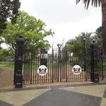 Queens Gardens Entrance Gates