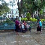 Plaza scene - San Cristobal