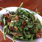Rocket, Pear, Parmesan and Walnut Salad ... delicious