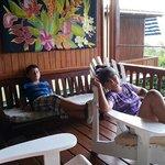kids relaxing