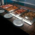 good selection of food