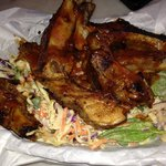 baby back ribs with love slaw