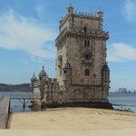 Torre de Belém, fechada as segundas feiras.