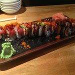 Awesome Rainbow roll.