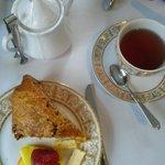 Tea and scone
