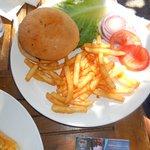 Lamb Burger -Delicious!