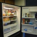 Fiske Cabin - fridge
