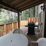 Fiske Cabin - Balcony