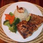 Five Spiced Fish (grouper)