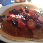 swedish pancakes with berries