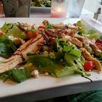 Otentic Salad! Well presented and delicious!