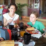 colazione al Riverside Hotel