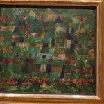 Obra de Paul Klee - Landschaft in Grün