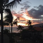 Sunset from our Lanai