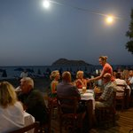 "Dining on the Beach front restaurant of apartments ""Nisos"""