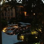 Evening View of Courtyard from Suite