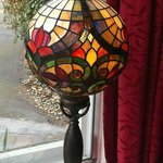 Lamp in front dinning room