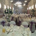 Where the wedding breakfast was held so beautiful