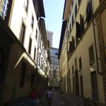 This is the view from directly outside of the hostel of the Piazza Del Duomo - sooo close!