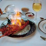 Lobster Flambé