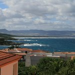 View from hotel to Isola Rossa