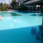 main pool with swim-up bar