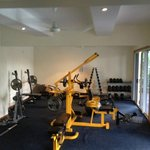Gym- weights section