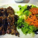 Hauptgang - Wachteln vom Grill (Salat)