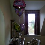 Balloons for my surprise birthday!