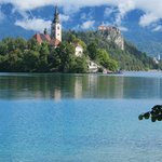 Lake Bled - walk the lake path