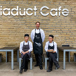 Our Chef Tutor Paul with apprentices Hannah and Corlie