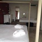 slaap gedeelte van de bruid suite