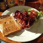 danish pate & bacon