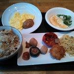13.04.07【リッチモンド福岡天神】朝食の一例