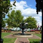 Pullman Square Lawn & Fountain