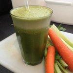 Fresh Juices... The Hulk...