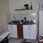 Cocina del Apartamento EXCELENTE